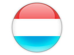 luxembourg round icon 256
